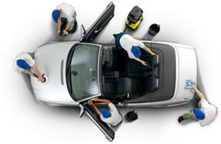 Luxus fahrzeugaufbereitung